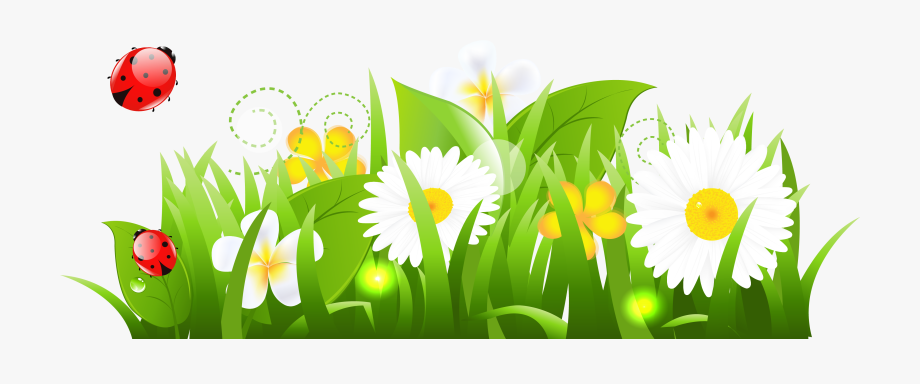 Fence clipart flower drawing. Grass with free cliparts