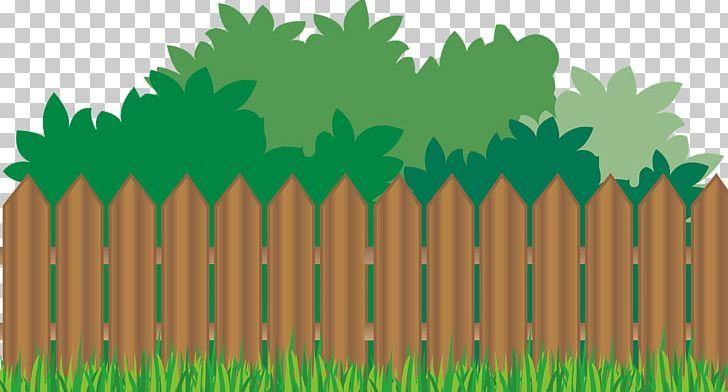 Fencing clipart backyard fence. Picket flower garden png