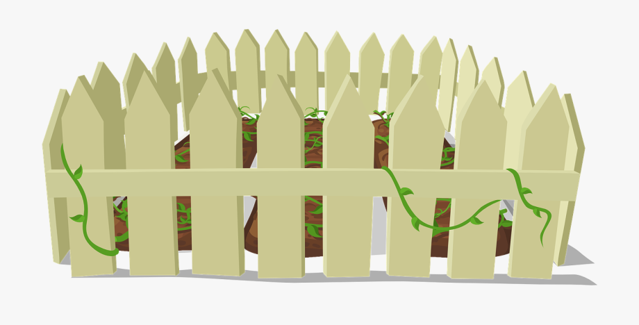 Fence clipart gardening. Free to use public
