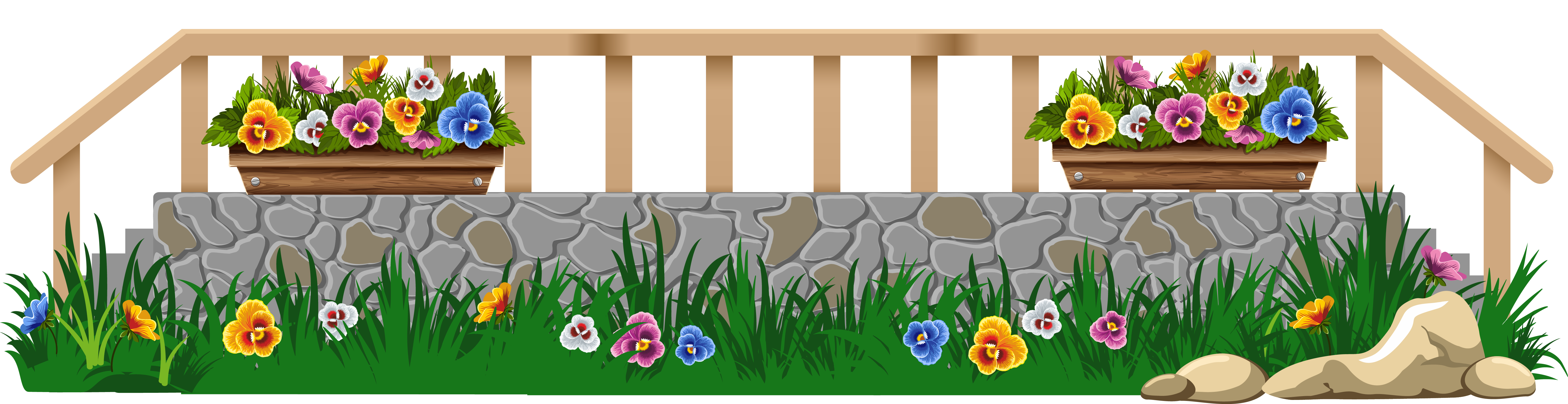 collection of with. Fence clipart gardening