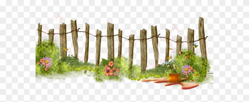 Fence clipart gardening. Garden with ideas