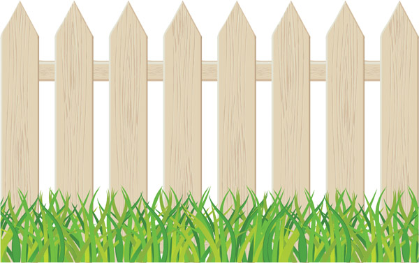 Fencing clipart cartoon. Download fences fence pickets