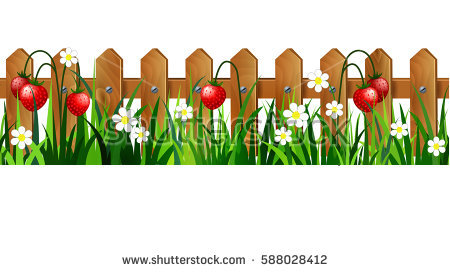 With grass station . Fence clipart grasss