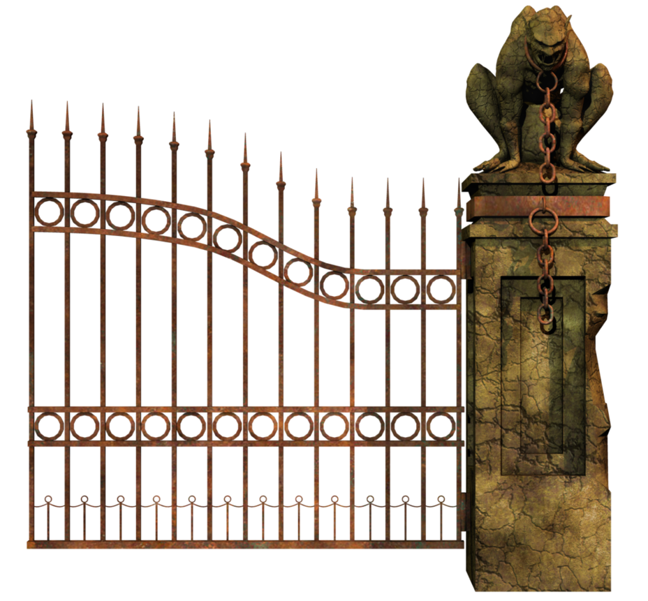 Cemetery Gates PNG Transparent Cemetery Gates