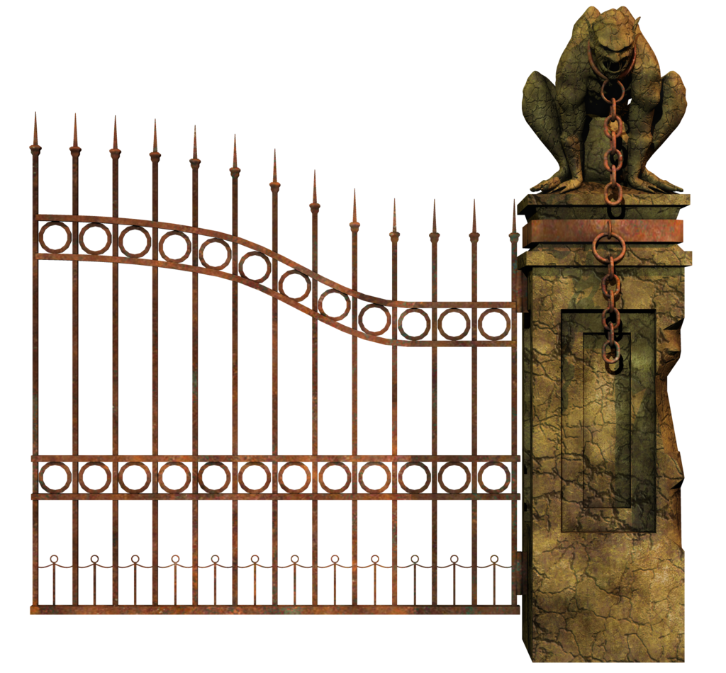 Gate clipart boundary. Free graveyard cliparts download