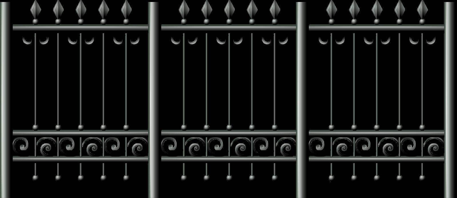 png album fencesclip. Fence clipart iron fence
