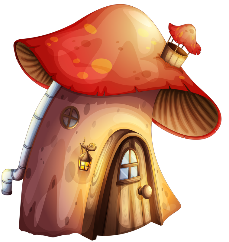 png mushroom house. Gnome clipart mushroomclip