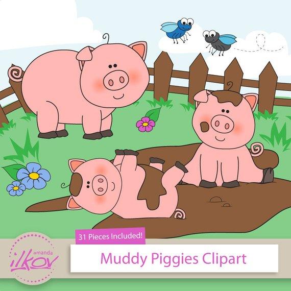 Pig clipart fence. Premium pc pigs in