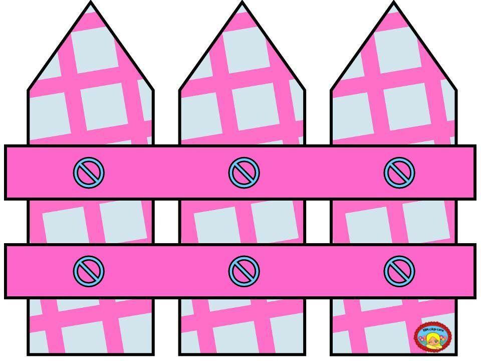 Fence clipart pink. Clip art misc pocket