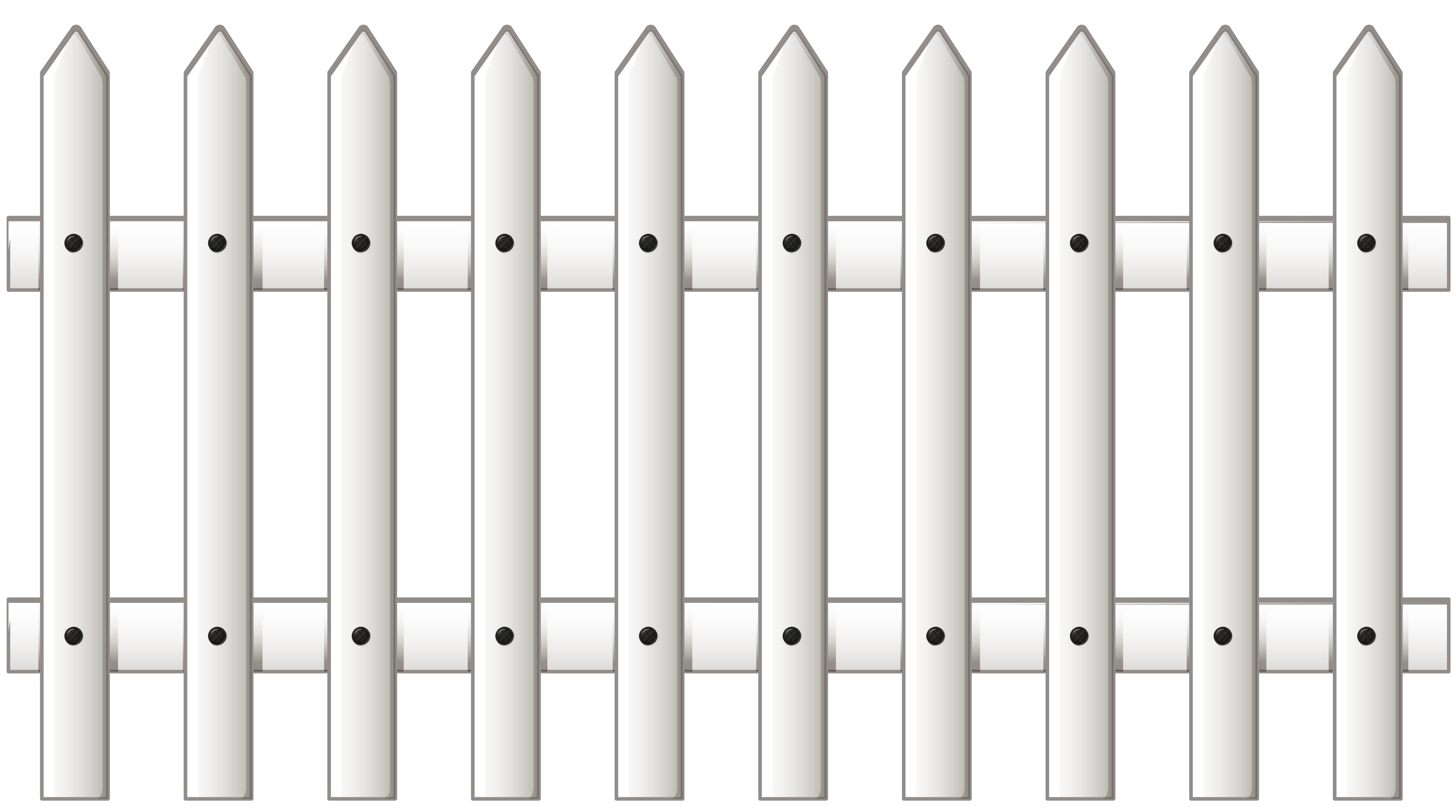 Fence png picture gallery. Fencing clipart black and white