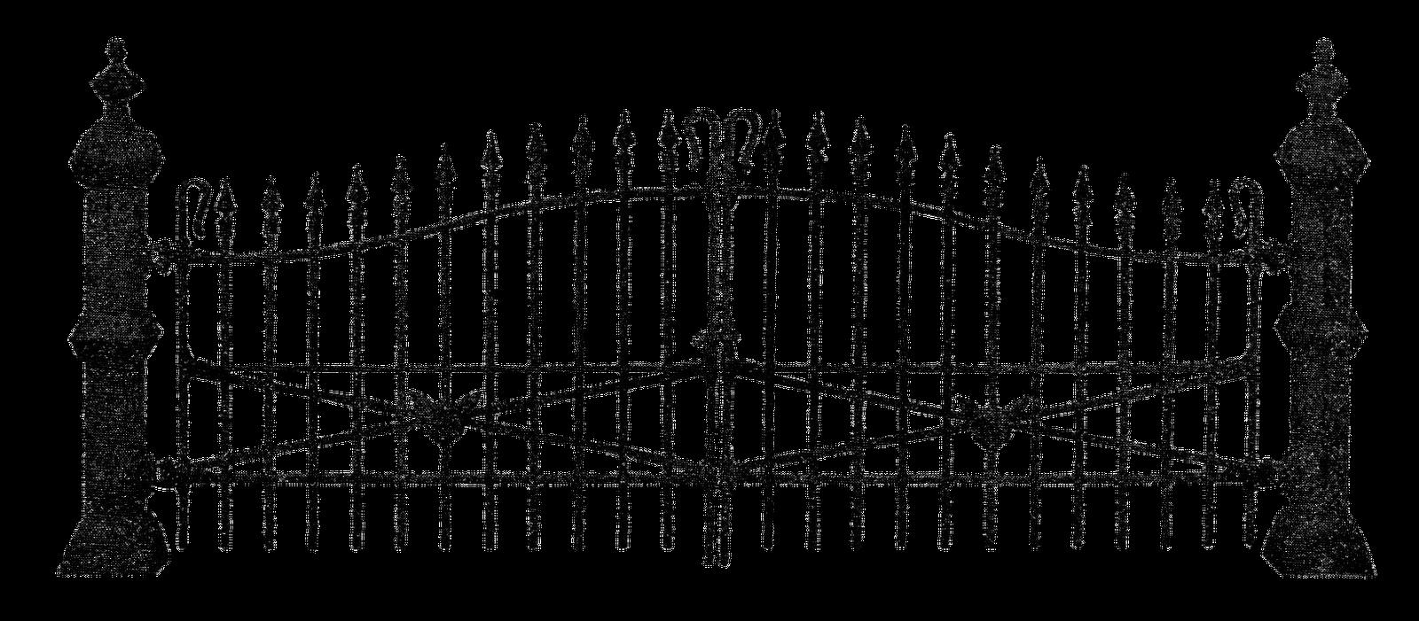 Creepy Broken Cemetery Fence Google Search Halloween Vector Layout Design Inspiration Cemetery