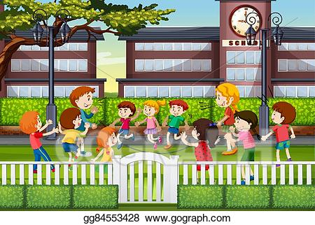 Portal . Fence clipart school