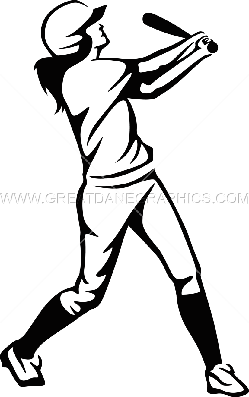 Player drawing at getdrawings. Softball clipart draw