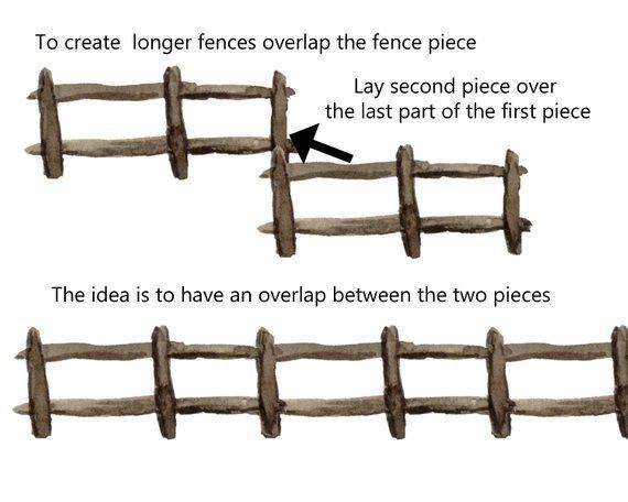 Portal . Fence clipart split rail fence