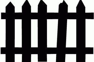 Fence clipart spooky. Portal