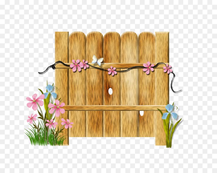 Wood background illustration art. Fence clipart spring