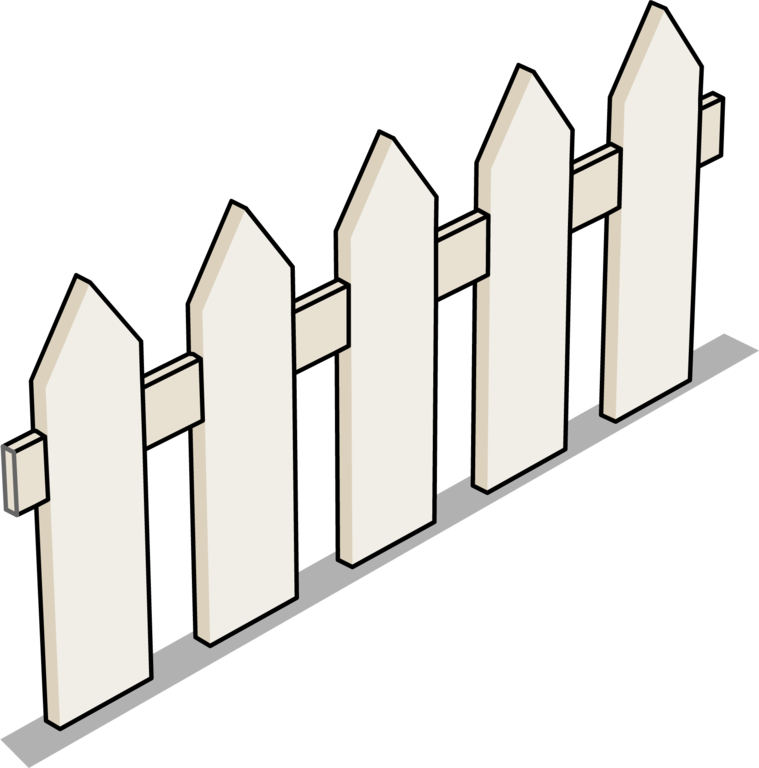 Image picket sprite png. Fence clipart top view