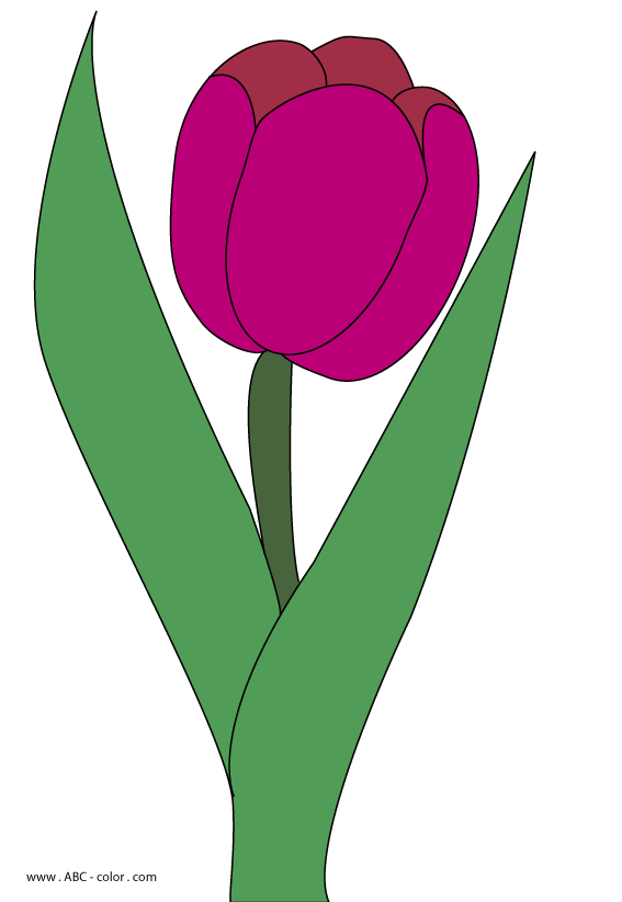 Fence clipart tulip. Raster picture