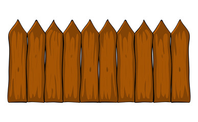 Fence clipart vector. Picket stock photos and