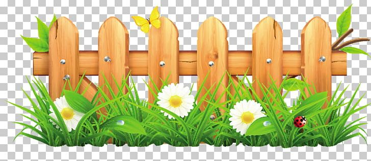 Fence clipart wallpaper. Picket flower garden lawn