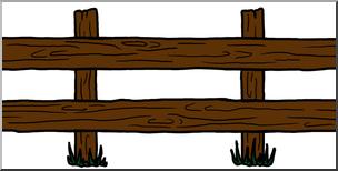 Clip art theme color. Fence clipart western fence