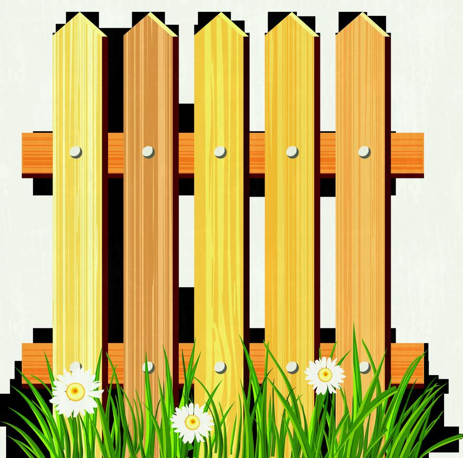 Fence clipart yellow. Download yard clip art