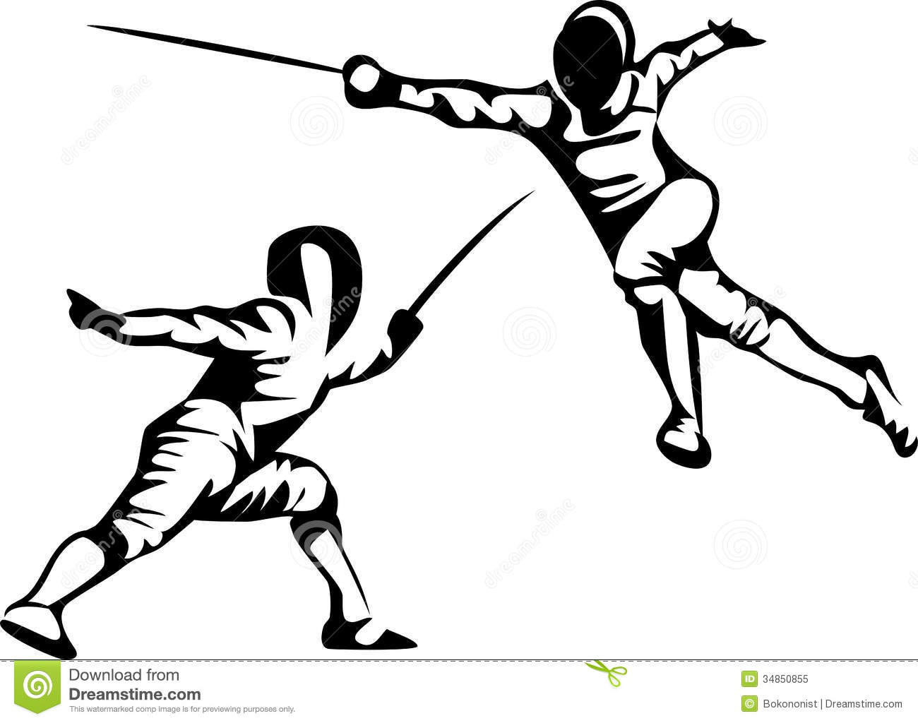 clipartlook. Fencing clipart