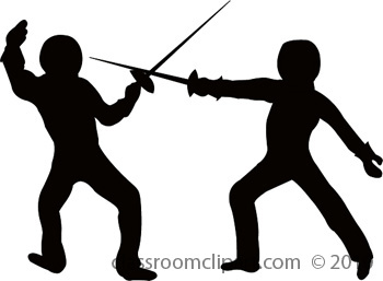 Fencing clipart. Fence clip art free