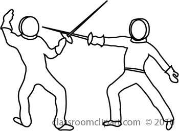 Bw panda free images. Fencing clipart