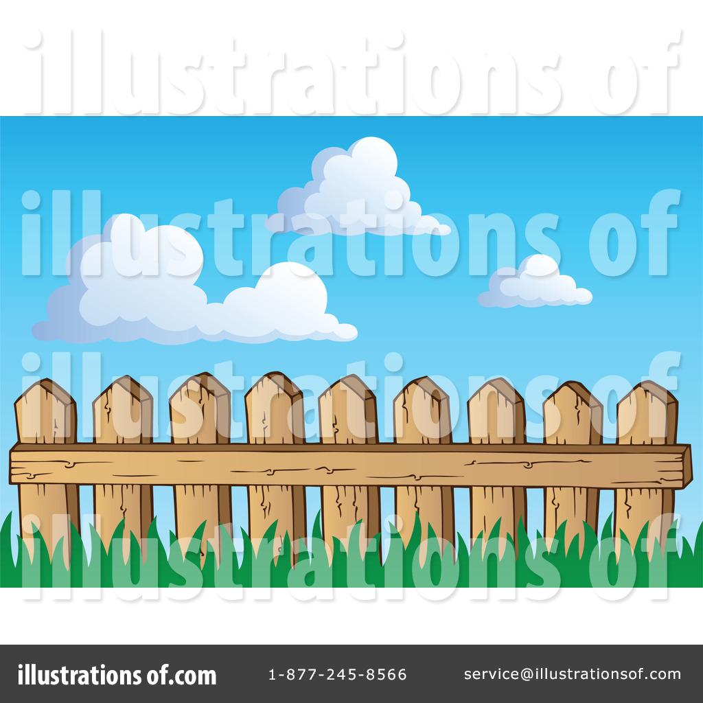 Fencing clipart boundary. Fence illustration by visekart