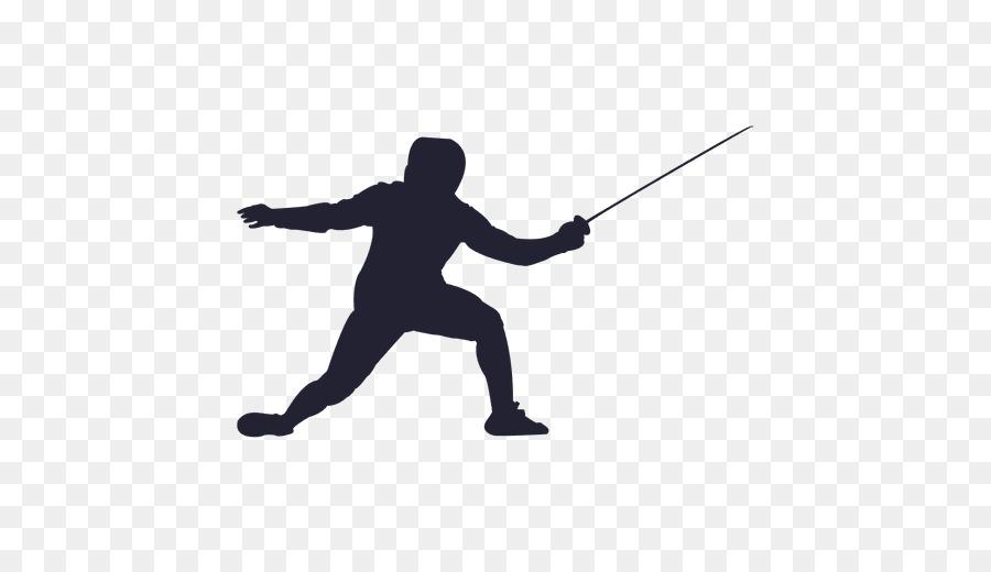 Summer cartoon sports sword. Fencing clipart fencing foil