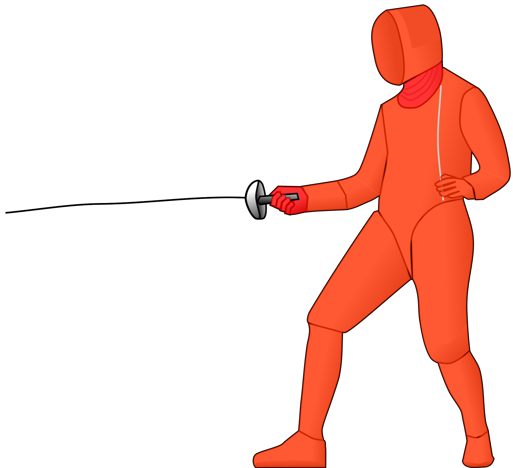 Tsfc about . Fencing clipart person