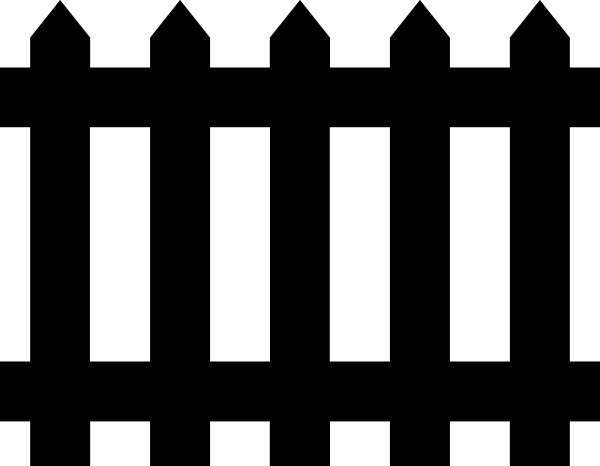 Fence clip art free. Fencing clipart svg
