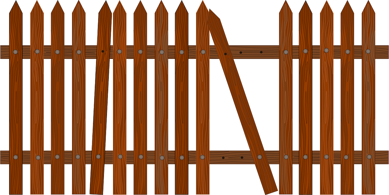 Why maintenance and repair. Fencing clipart wood fence