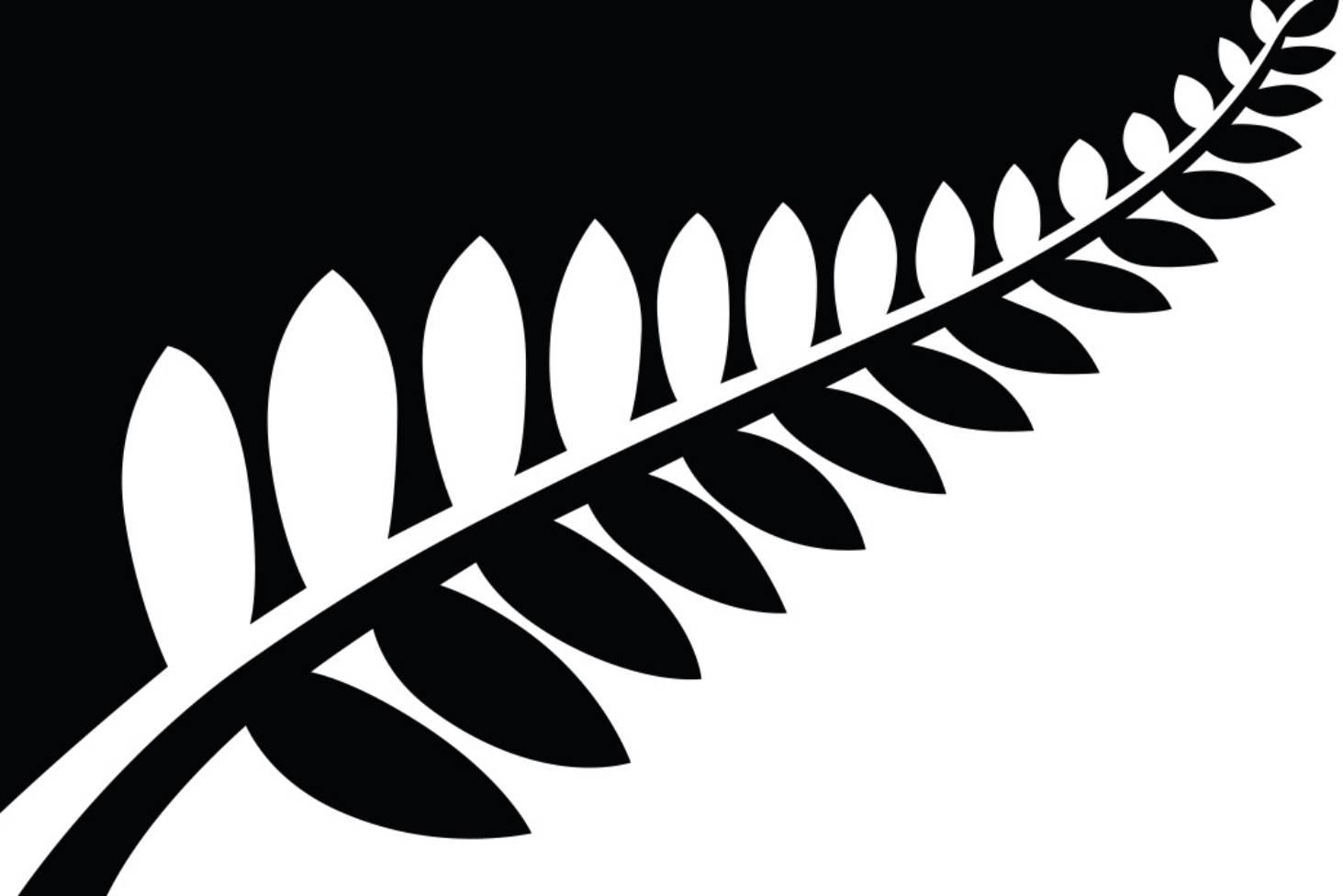 Fern clipart fern nz. Flag designer alofi kanter
