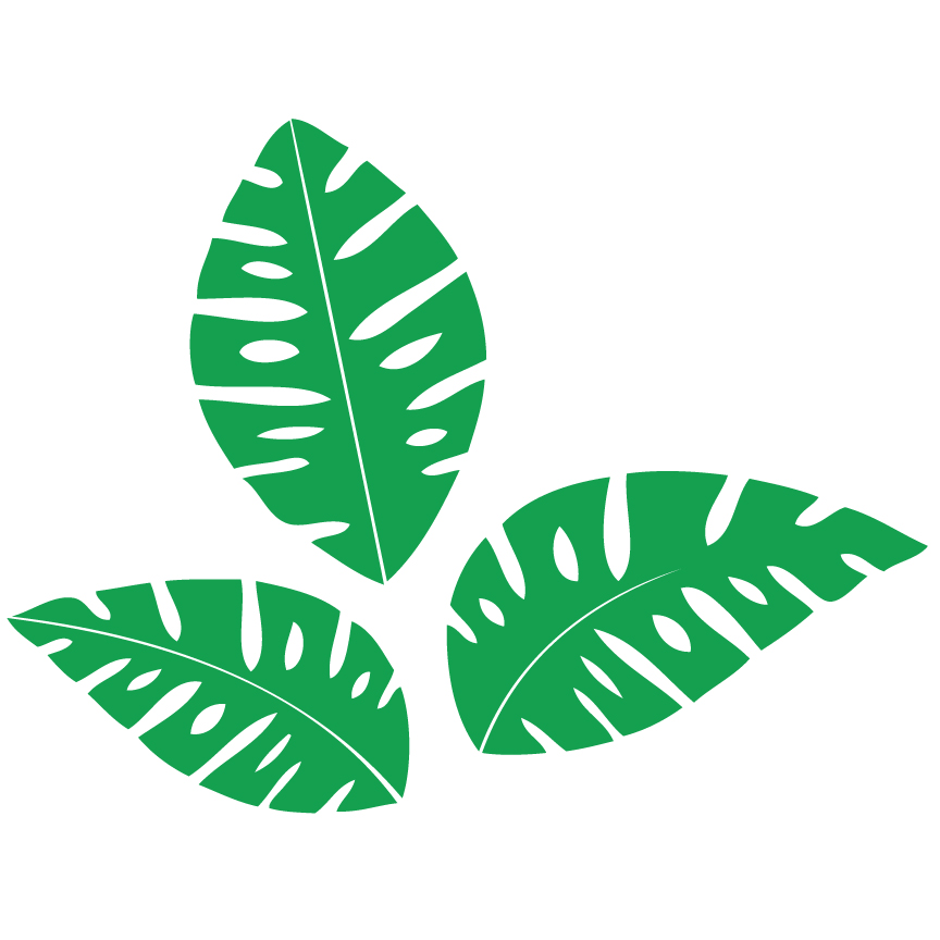Fern clipart jungle. Leaf free download best
