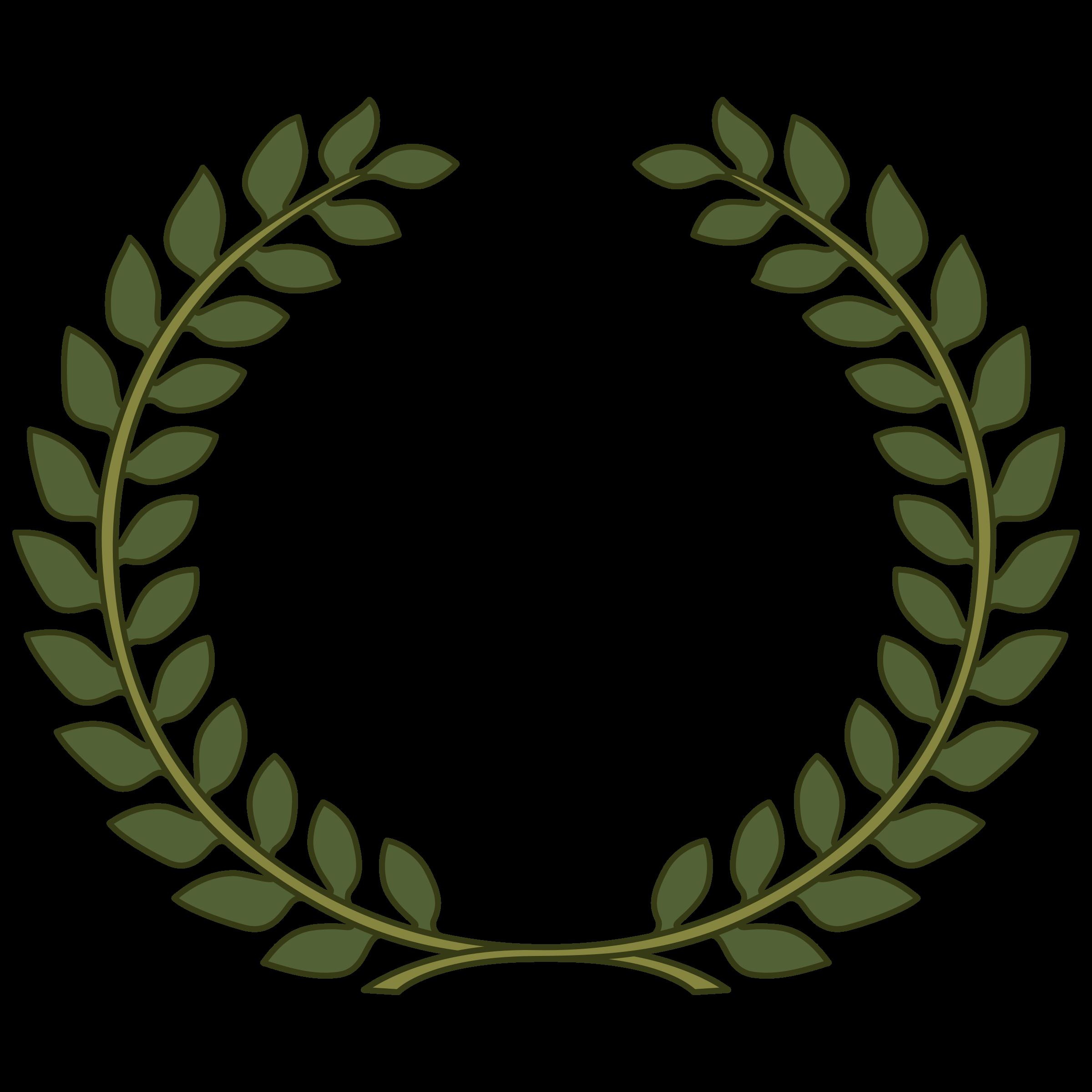 Fern clipart olive.  views pinterest wreath