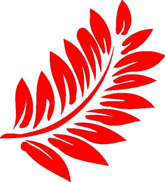 Fern clipart red fern. Plant in