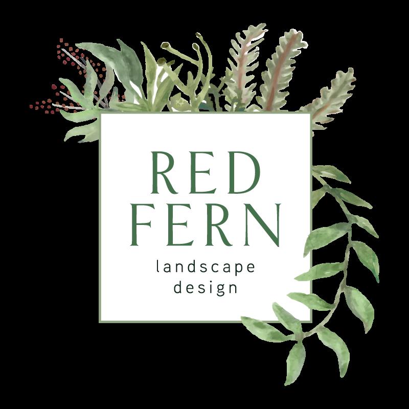 Landscape design des moines. Fern clipart red fern