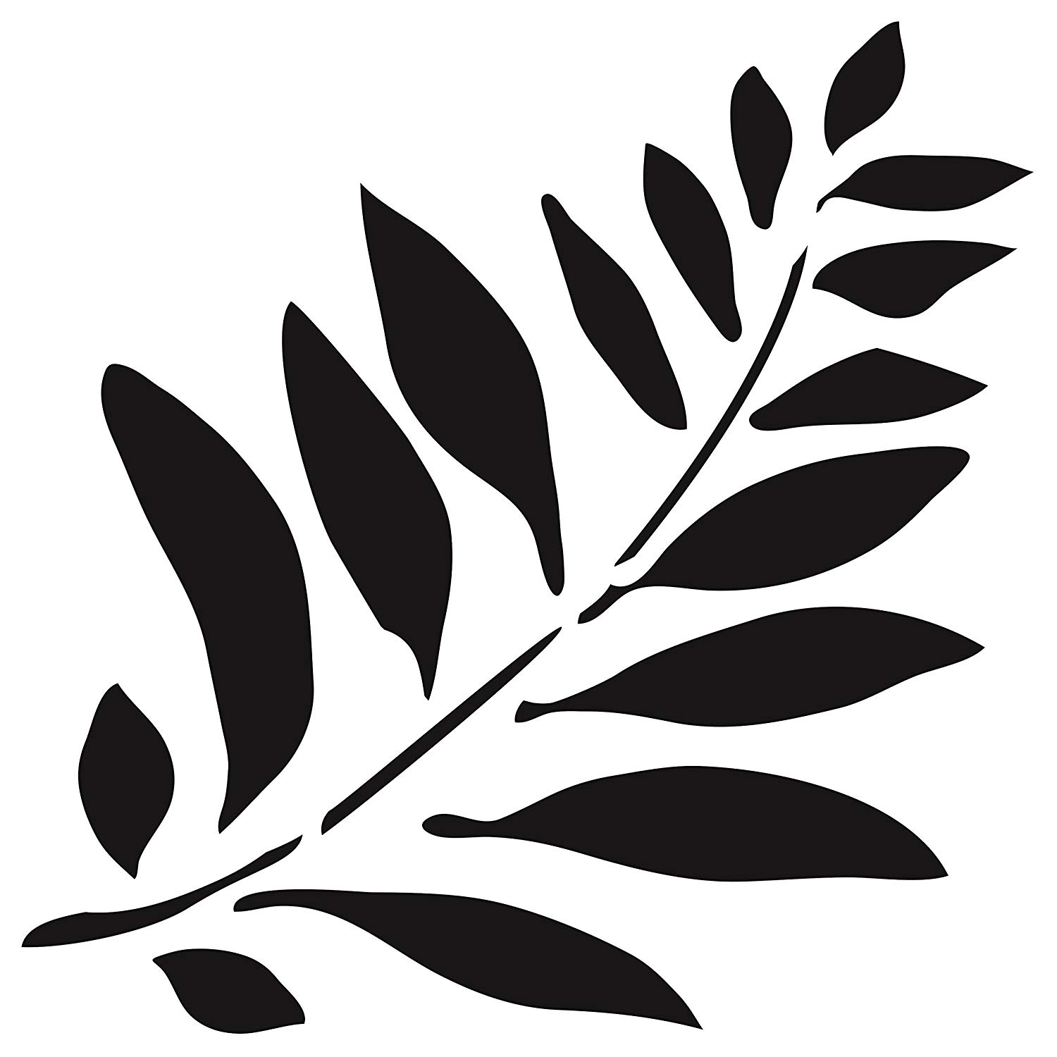 It's just a photo of Printable Leaf Stencils regarding outline