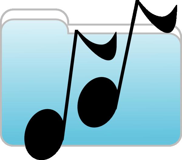 Image for music clip. Folder clipart school information