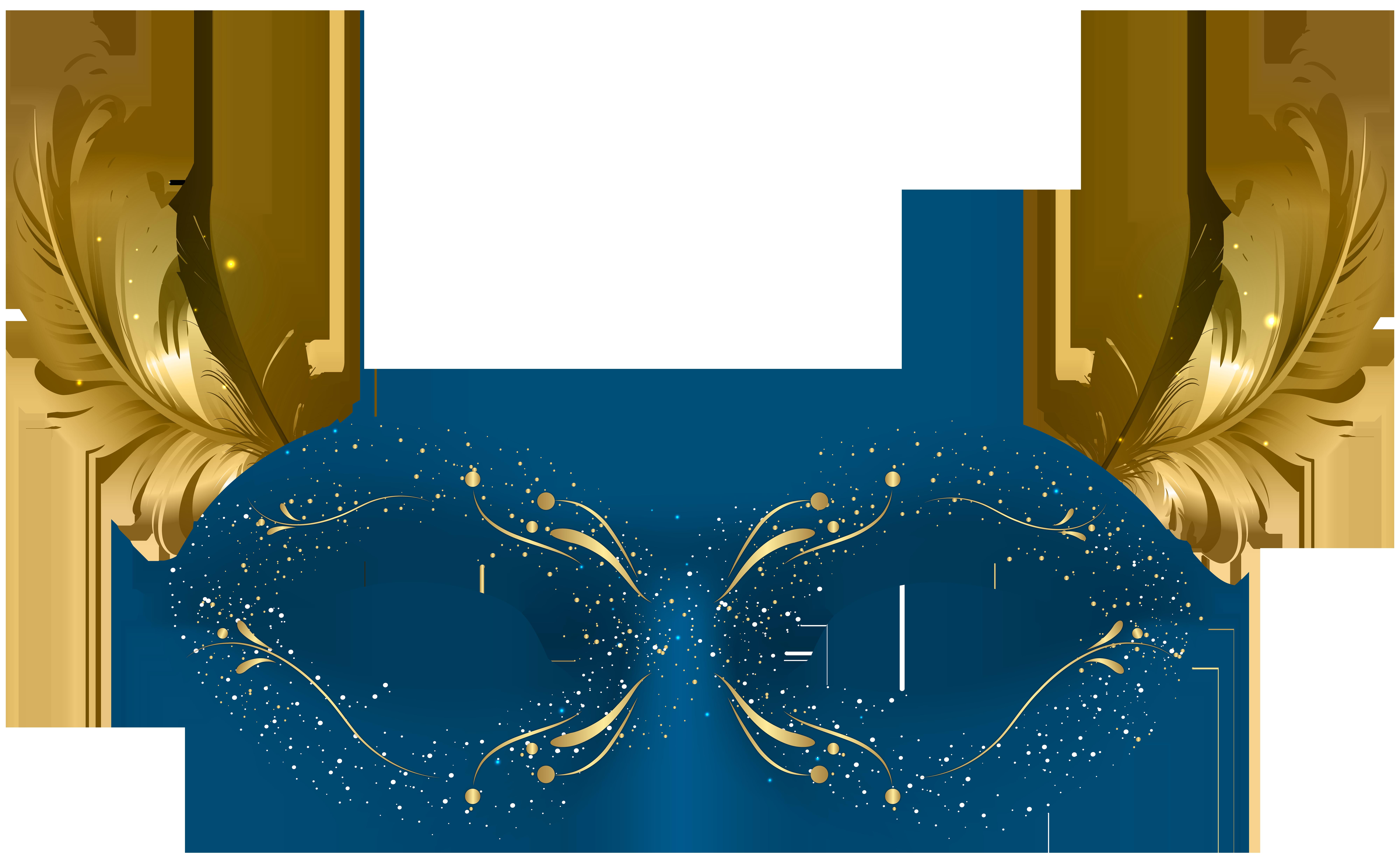 Blue mask png clip. Festival clipart carnival festival