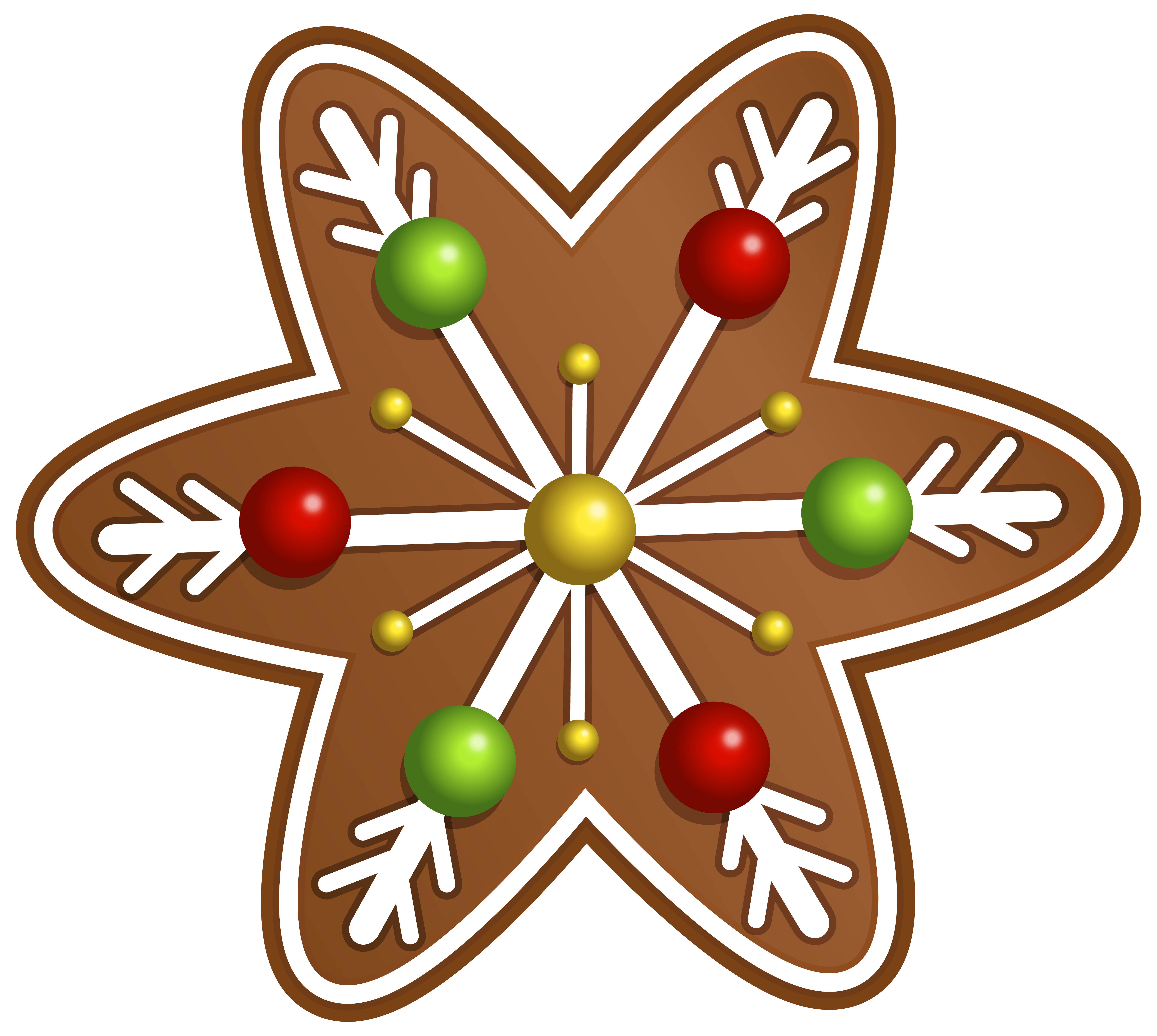 Christmas cookie star png. Holly clipart holiday