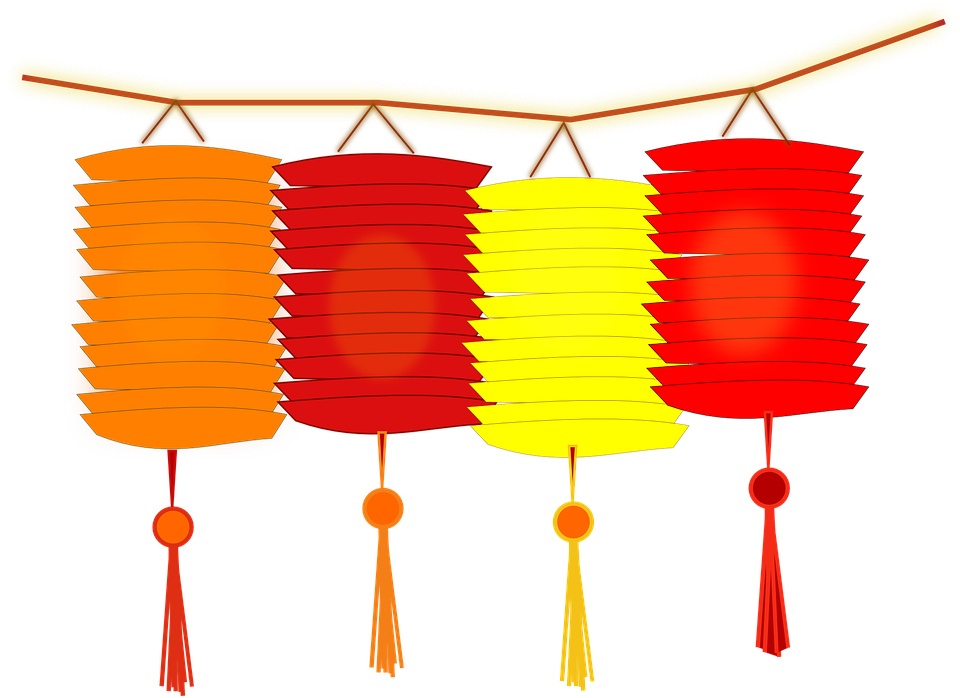 collection of lantern. Palace clipart pagoda chinese