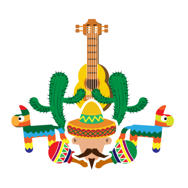 Mexican celebration commemorating the. Mexico clipart fiesta