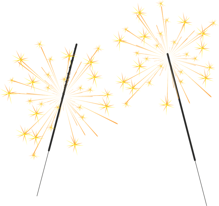 Anniversary cliparts shop of. Firecracker clipart sparkler