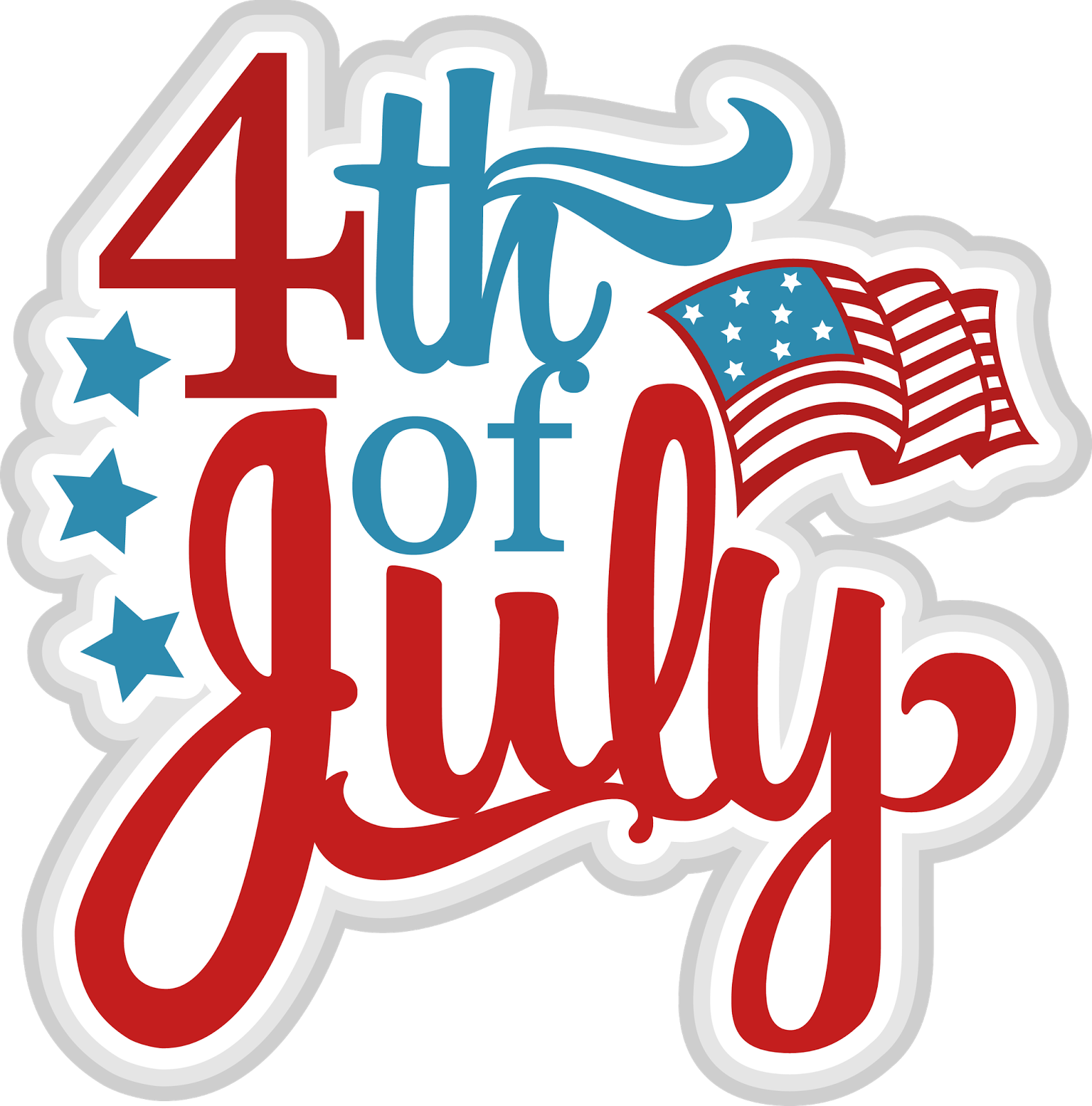 Kids clipart 4th july. Animated happy th of