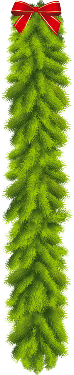 Woodland clipart garland. Transparent christmas pine with