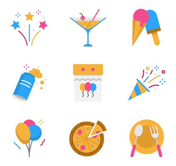Festival clipart icon. Fun icons free vector