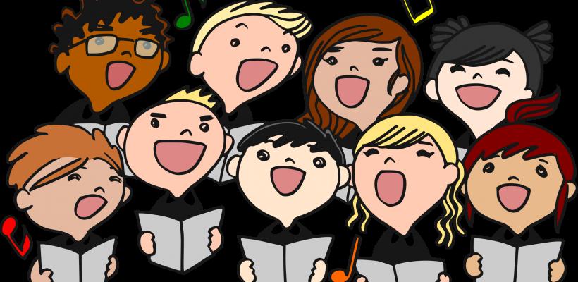 April st agnes catholic. Festival clipart musical group